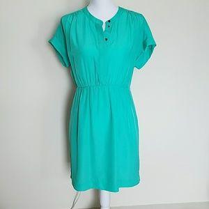 Mint colored J. Crew dress